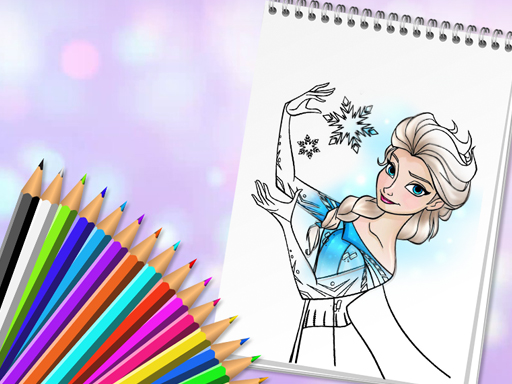 Amazing Princess Coloring Book Play Free Game Online At