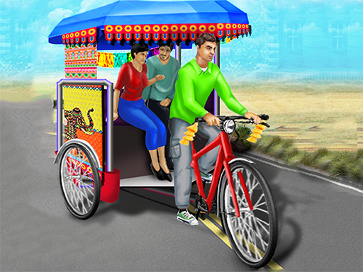 Bicycle Rickshaw Simulator